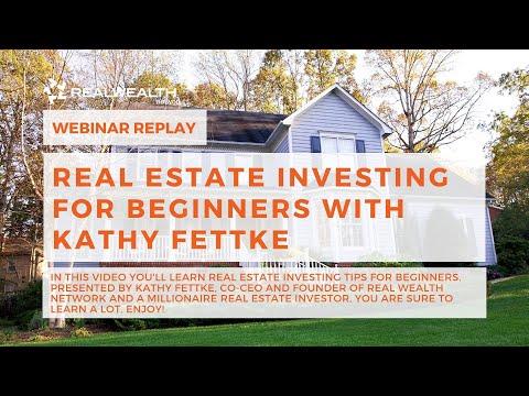 Real Estate Investing for Beginners with Kathy Fettke [Webinar]