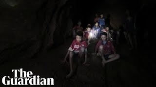 Rescuers find Thai boys who were trapped in cave for nine days