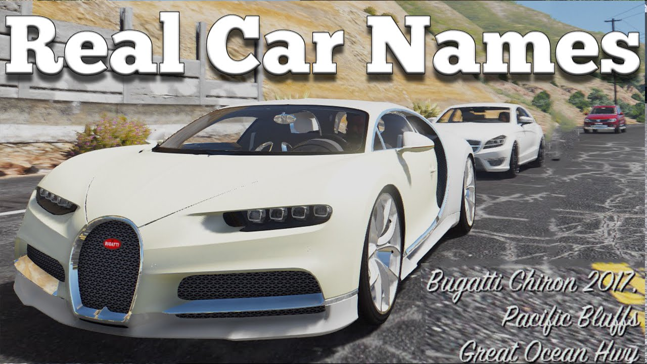 real car names for mega realistic car pack gameplay video youtube