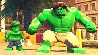Lego Marvel Vingadores #18: Cadê o Mini Hulk Clássico? (Lou Ferrigno) - Xbox One Gameplay