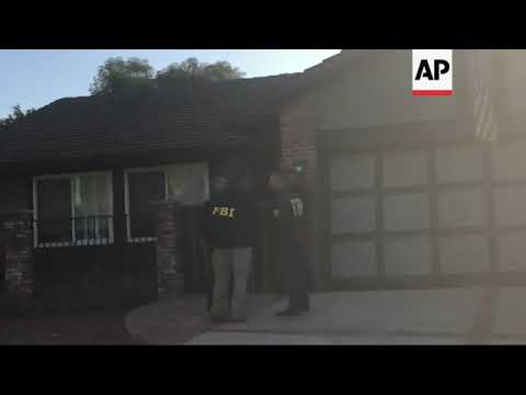 FBI searches home of suspected Calif. bar shooter