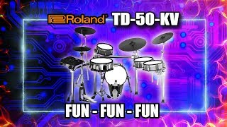 Can guitarists play drums? Roland TD50KV (SO much fun!)