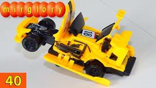 Машинки мультфильм - Город машинок - 40 серия: Машинка трансформер. Развивающие мультики mirglory