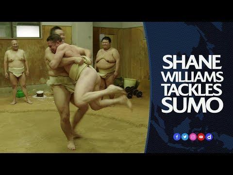 Shane Williams tackles sumo wrestling | Big in Japan