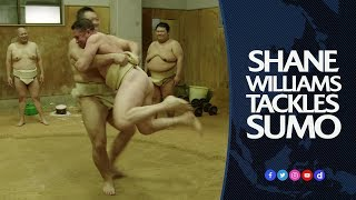 Shane Williams tackles sumo wrestling | BIG in Japan