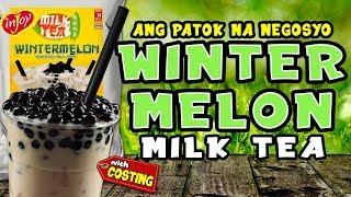 WINTER MELON MILK TEA / WINTER MELON BUBBLE MILK TEA / INJOY MILK TEA BUSINESS