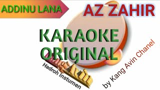 Download addinu lana karaoke full roll - kang avin channel || Hadroh karaoke