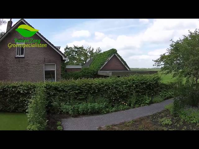 Rondvlucht tuinaanleg Balkbrug