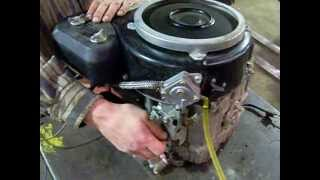 John deere GT242 ENGINE. Kawasaki 14hp