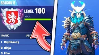 How to LEVEL UP FAST In Fortnite! How to RANK UP FAST in Fortnite Season 5 - Unlock Max RAGNAROK!