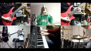 [HD]Musaigen no Phantom World ED [Junshin Always] Band cover