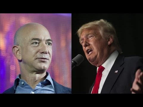Donald Trump Attacks Amazon CEO Jeff Bezos