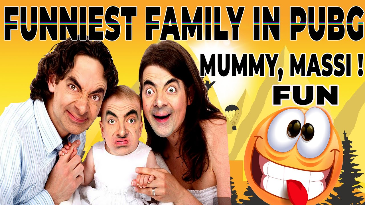 FUNNIEST FAMILY IN PUBG🤣 | FEAT. SALMAN KHAN | FULLY FAMILY DRAMA😅 !