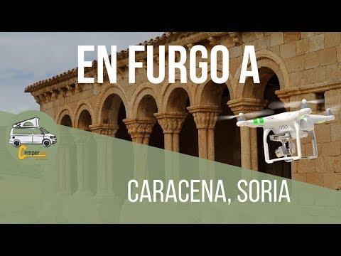 En furgo a Caracena Soria | Románico en Soria | Viajando en furgoneta Camper o Autocaravana