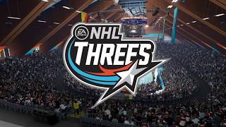 NHL 18 Threes International Gameplay Team USA vs. Team Slovakia