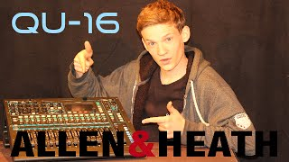 Test und Check Allen & Heath Qu 16 [Digital Mischpult] (Full HD) german