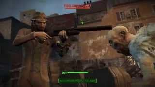 Fallout 4 - Juicy Double-Barrel Ghoul Hunting