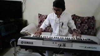 DIL KE JAROKHE MEIN-Live Instrumental on Keyboard