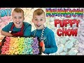 Rainbow Puppy Chow - Kid Size Cooking