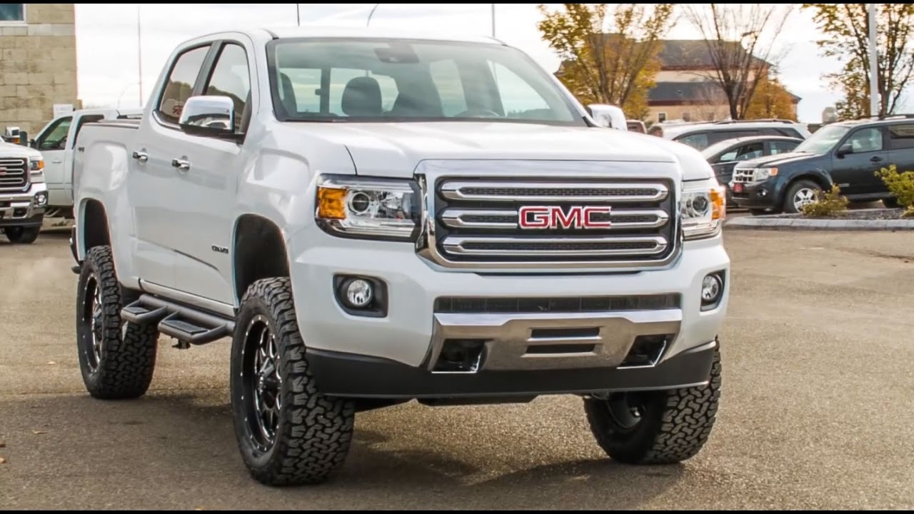 2017 Lifted Canyon Sierra Elevation Edition Davis Gmc Buick Lethbridge You