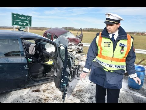 Halálos baleset Nagycenknél, a 85 ös főúton - Fatal crash