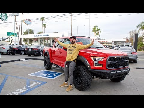 BUYING THE NEW FORD RAPTOR WITH SALOMONDRIN!