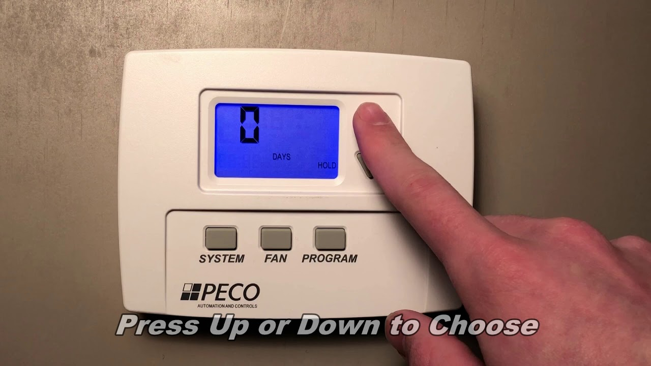 T180 Setting a Temperature Hold