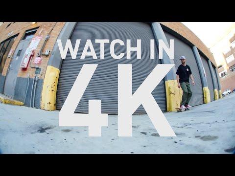 4K SKATEBOARDING NYC
