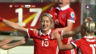 Euro féminin : La Russie ouvre le score face à l'Italie (1-0) thumbnail