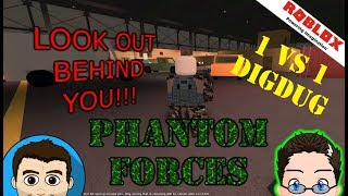 Roblox - 1 v 1 Phantom Forces w/ DigDugPlays