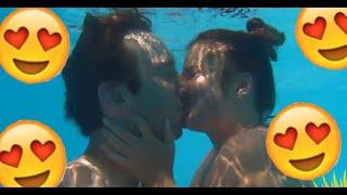 😵Der unerotische Unter-Wasser-Kuss😍 !!!
