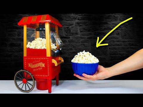 The MINI POPCORN MACHINE   Smallest Popcorn Maker in the World