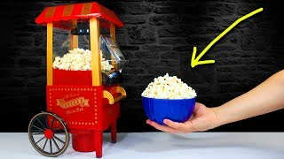 The MINI POPCORN MACHINE | Smallest Popcorn Maker in the World