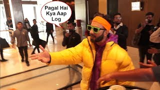 Ranveer Singh Gets Angry On Media Like Never Before For Misbehaving At Gully Boy Trailer Launch