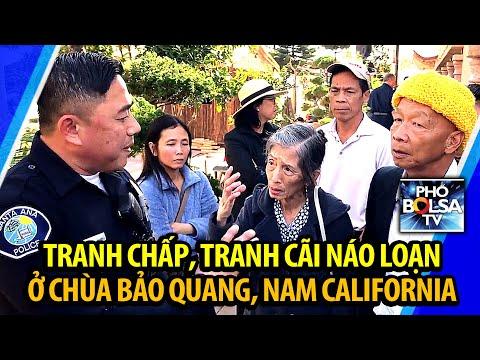 Tranh chấp, tranh cãi náo loạn ở chùa Bảo Quang, Nam California