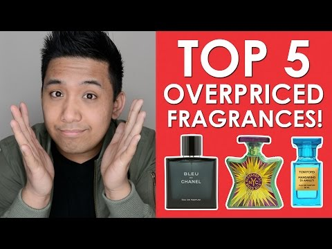 TOP 5 MOST OVERPRICED FRAGRANCES! | CascadeScents