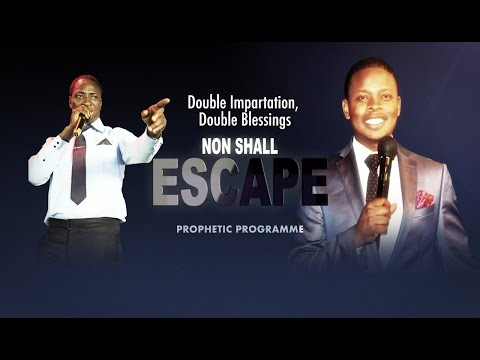 """None Shall Escape"" Programme -Sunday Service'B'. With ""Owomowomo & Major 1"" of South Africa"