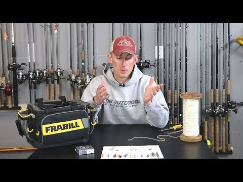 How to Tie a Lake Winnebago System Fly Rig (Two Types)
