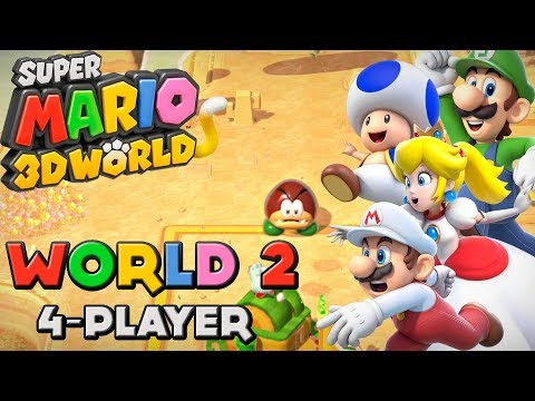 Super Mario 3D World - World 2 (4-Player)