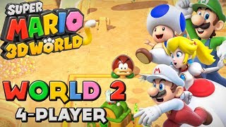 Super Mario 3D World - World 2 (4-Player)