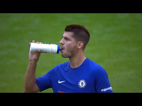 Alvaro Morata vs Arsenal (Wembley) 06/08/2017 HD 1080i