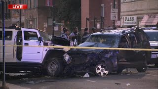 Chicago police chase across city leaves 6 hurt, including suspect and officers; woman, 37, killed