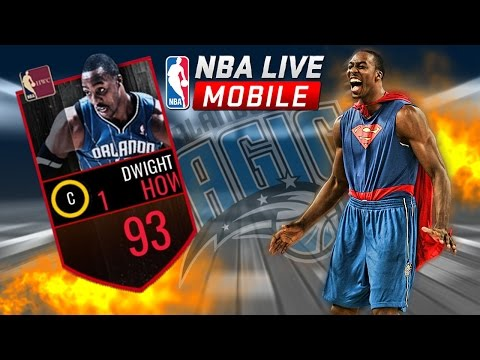 93 OVR DWIGHT HOWARD SMASHING ON FOOLS | NBA LIVE MOBILE PLAYOFF PACK DUNK CHALLENGE