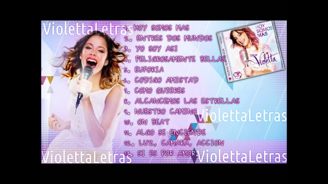 Descargar Mp3 de Violetta 1 Cd Completo gratis - 44:07
