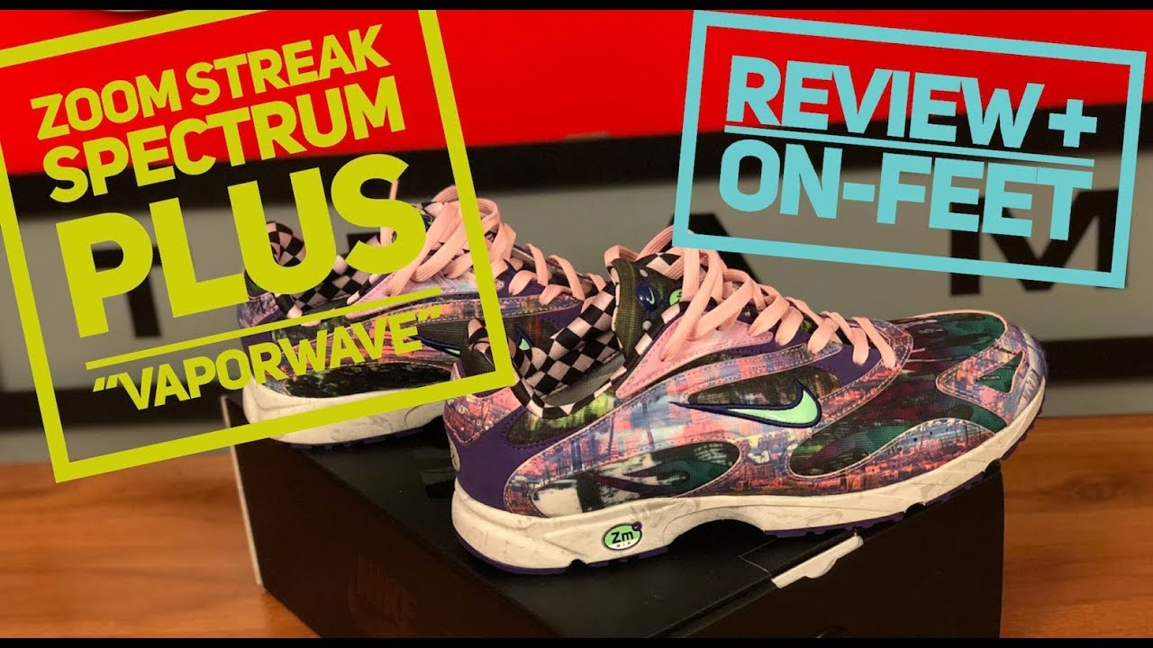 nike zoom streak spectrum plus vaporwave premium review + on feet