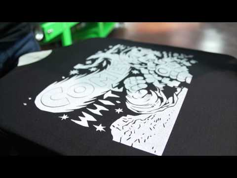 Comet White Water Based Screen Printing Ink Overview
