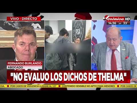 Fernando Burlando: 'Ahora le creo a Darthés'