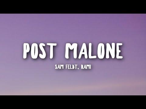 Sam Feldt - Post Malone (Lyrics) feat. RANI