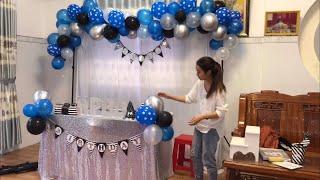 Tự trang tris sinh nhật cho bé tại nhà cực dễ #1 - DieuLinh Cake