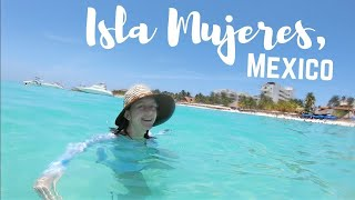 ISLA MUJERES and SWIMMING WITH WHALE SHARKS